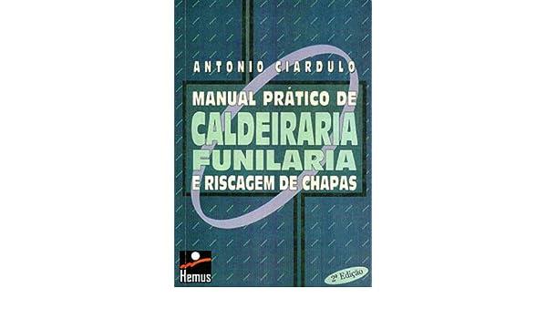 Manual Prático de Caldeiraria: Antonio Ciardulo: 9788528903973: Amazon.com: Books