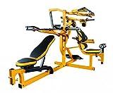 Powertec Fitness Workbench Multi System, Yellow