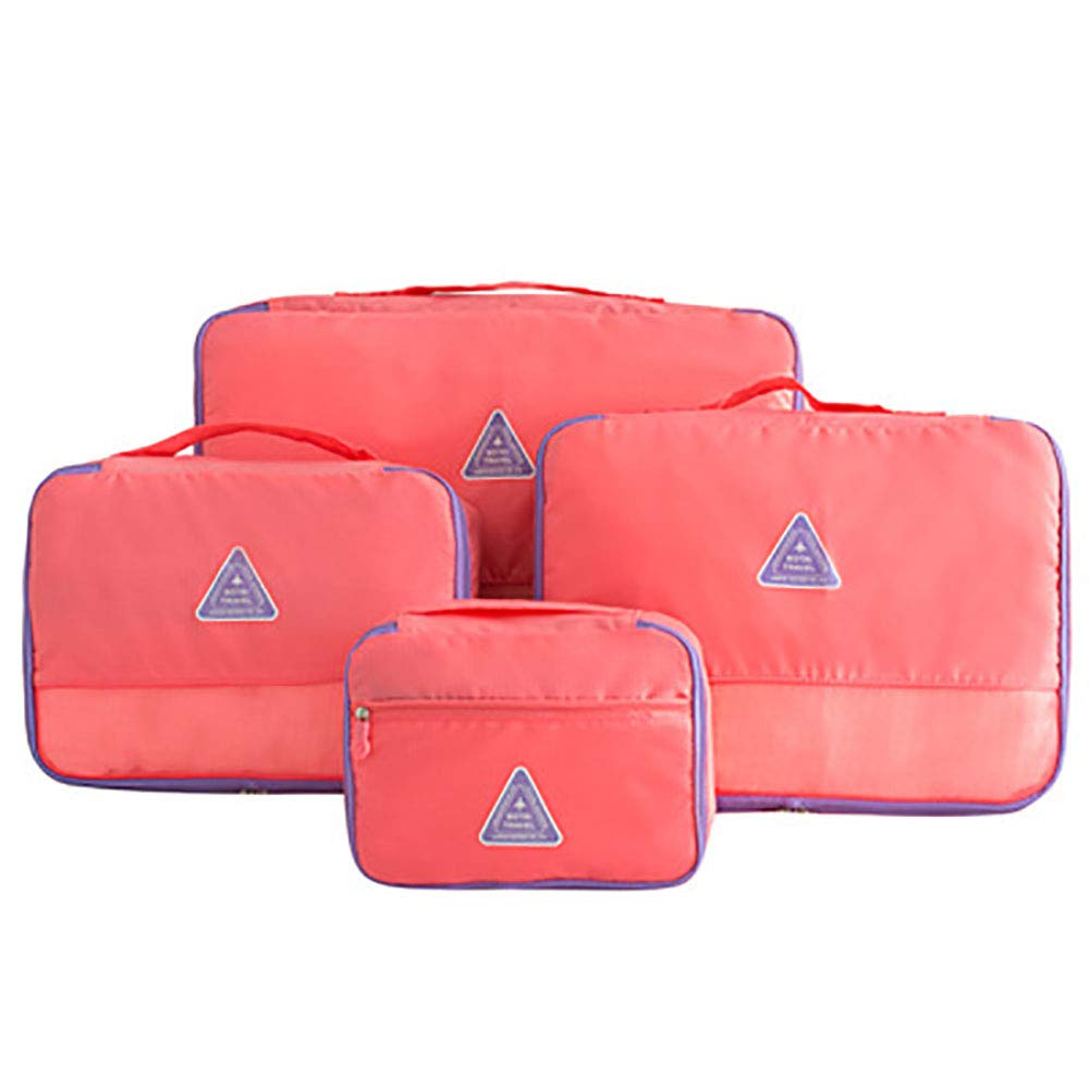 Color : Purple Canyixiu Packing Cubes Set for Travel, Luggage Organizer 5 Set Packing Cubes for Travel Bags Travel Essential Bag-in-Bag Travel Luggage Organiz