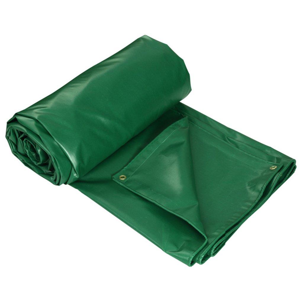 Unbekannt Wasserdichtes Sonnenschutzzelt Der Tarpaulin Grüner Plastikdickere Ponchoplane-Autoregenabdeckung Vielzahl Der Größen