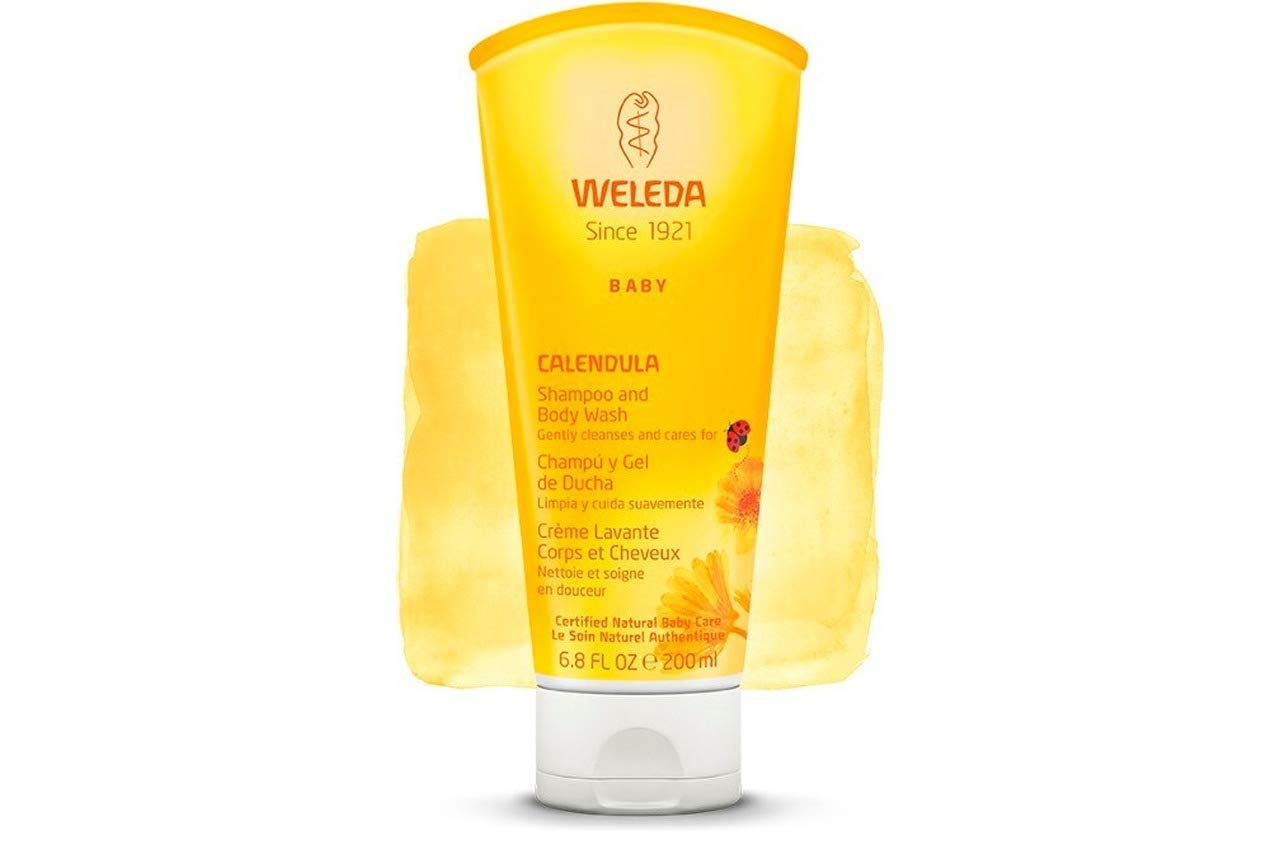 Weleda 2in1 Gentle Shampoo + Body Wash, 6.8-Ounce