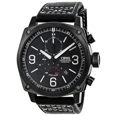 Oris BC4 Chronograph Men's Automatic Watch 674-7633-4794-LS (Watch Automatic Oris)