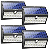 InnoGear Solar Lights Outdoor,Motion Sensor Security Night Light with Auto on and Off for Front Door Back Yard Driveway Garden Patio Garage, Pack of 4