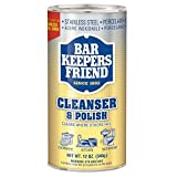 Bar Keepers Friend All-Purpose Cleaner & Polish,12 oz (Pack of 4)