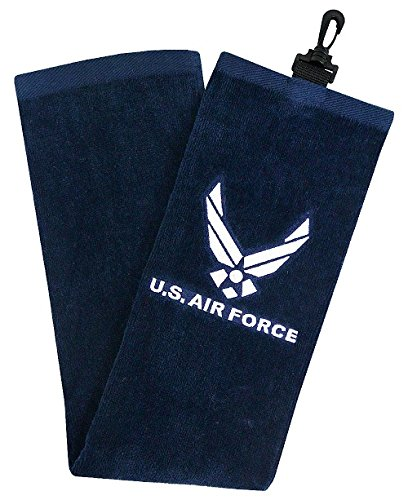 Hot-Z Golf US Military Air Force Tri-Fold Towel