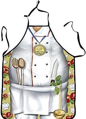 Tablier de cuisine humoristique Homme Chef Cuisinier - Cuisine ...