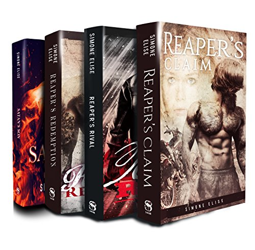 Satan's Sons MC Romance Series Boxed Set: Books 1 - 3 plus an exclusive upcoming novel from the author - Exclusive Boxed Set