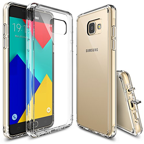 Galaxy A9 2016 Case, Ringke [FUSION] Crystal Clear PC Back TPU Bumper...