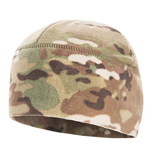 M-Tac Winter Hat Windproof Fleece 295 Mens Military Watch Skull Cap Tactical Beanie (Medium, Camo)