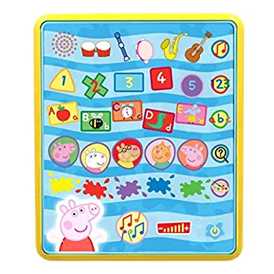 Peppa Pig Peppa's Smart Tablet PP04, Multi: Toys & Games