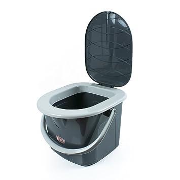 Dunwoth Portable Toilet for Camping Caravan Toilet Bag Mobile Dry ...