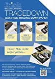 Frisk Tracedown A4, Pack Of 5, White