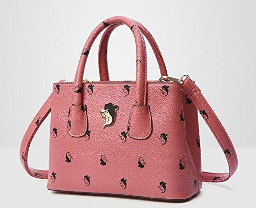 La ragazza, elegante confezione, la polizza di carico obliqui di spallamento cross-package, retro e versatile pacchetto, donna casual bag