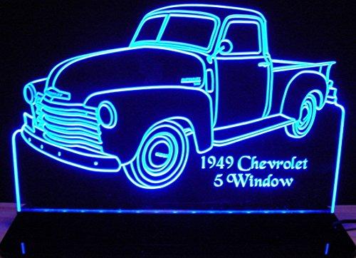 (ValleyDesignsND 1949 Chevy Pickup Truck 5 Window No Spare 12