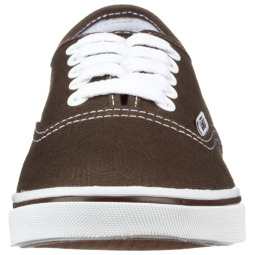 Top Adults Unisex Sneaker Authentic White True Low Espresso Vans Iw7Eg4xqn