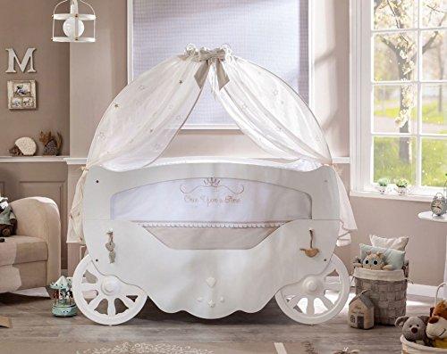 Cilek SOFTY Babybett Bett Kinderbett Babyzimmer Kinderzimmer Weiß