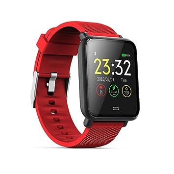 FBMXH Reloj De Hombre Relojes Inteligentes A Prueba De Agua Relojes Deportivos con Presión Arterial De