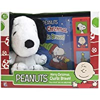 Peanuts Merry Christmas Charlie Brown Cuddly Snoopy and Play a Sound Book