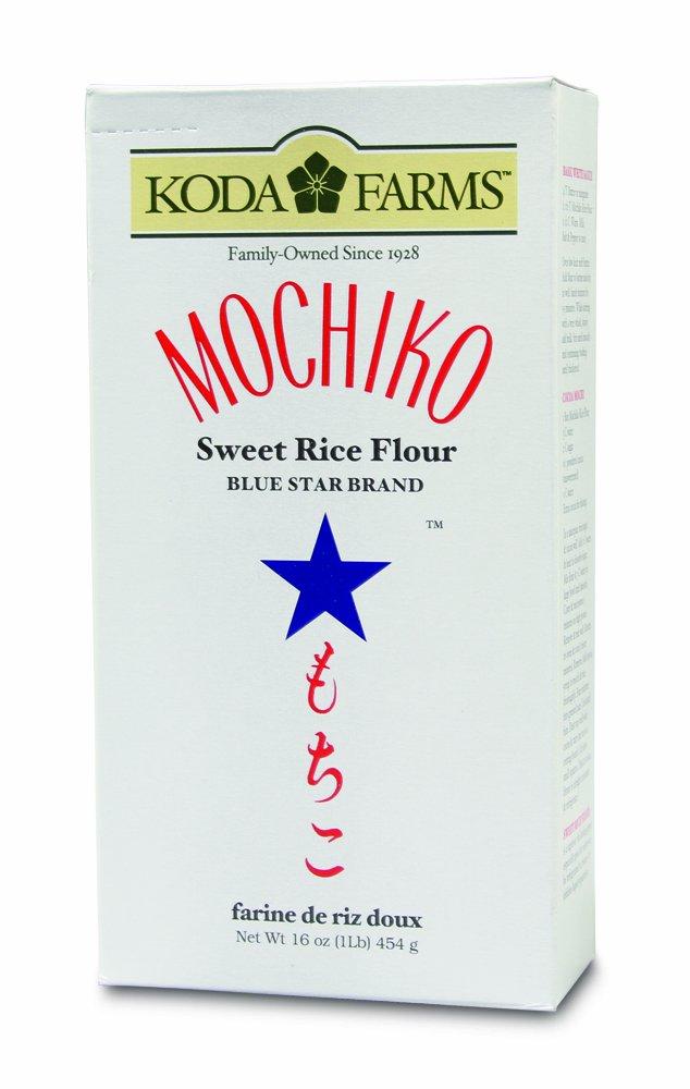 Koda Farms Mochiko Sweet Rice Flour, Blue Star, 1 Pound (Pack of 12) by Koda Farms