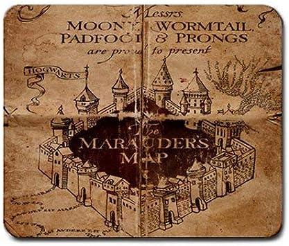 Azlure Mauspad Mit Harry Potter Karte Des Rumtreibers Bürobedarf Schreibwaren