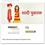 Congratulations (North Indian Wedding) - Email Amazon.in Gift Card