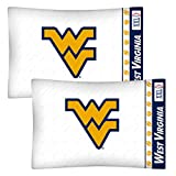 NCAA West Virginia Mountaineers Football 2-Pack Pillowcases