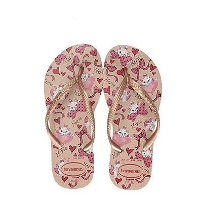 2258265fa8018 Havaianas Kids Slim Marie Disney Flip Flop Size 7 To 3 (BR 35-36 UK ...