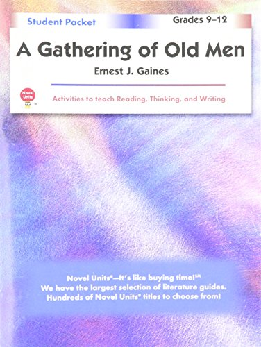 an analysis of a gathering of old men a novel by ernest j gaines Immediately download the a gathering of old men summary, chapter-by-chapter analysis, book notes, essays, quotes, character descriptions, lesson plans a gathering of old men by ernest j gaines emest j gaines was born january 15, 1933, in oscar.