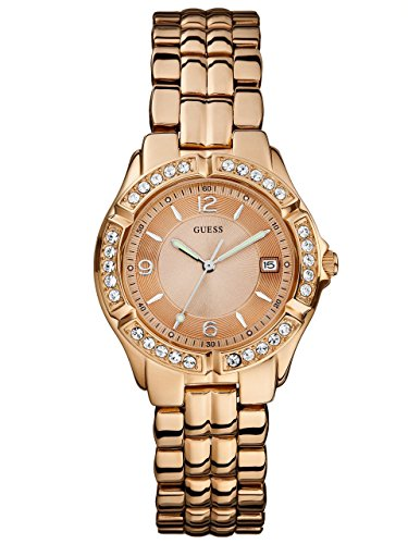 GUESS-Womens-U11069L1-Sporty-Chic-Rose-Gold-Tone-Mid-Size-Watch