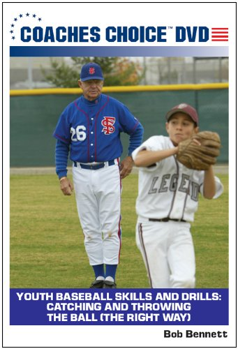 Youth Baseball Skills and Drills: Catching and Throwing the Ball (The Right Way)