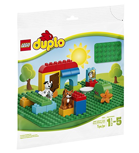 LEGO Duplo Creative Play Duplo Large Green Building Plate 2304...