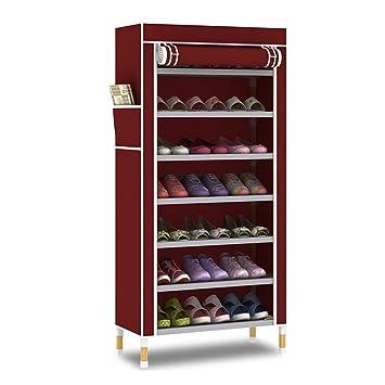 FANJIANI Personalisierte Massivholz Montagetuch Schuhschrank Einfache Staubdicht Montage Farbe B