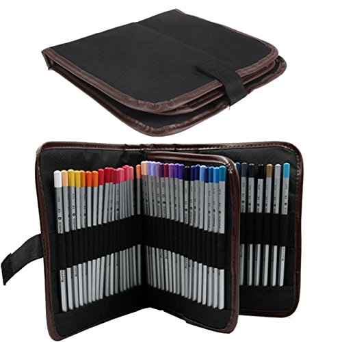 1 Piece Student Pencil Pen Cosmetic Makeup Brush Set Case Ma