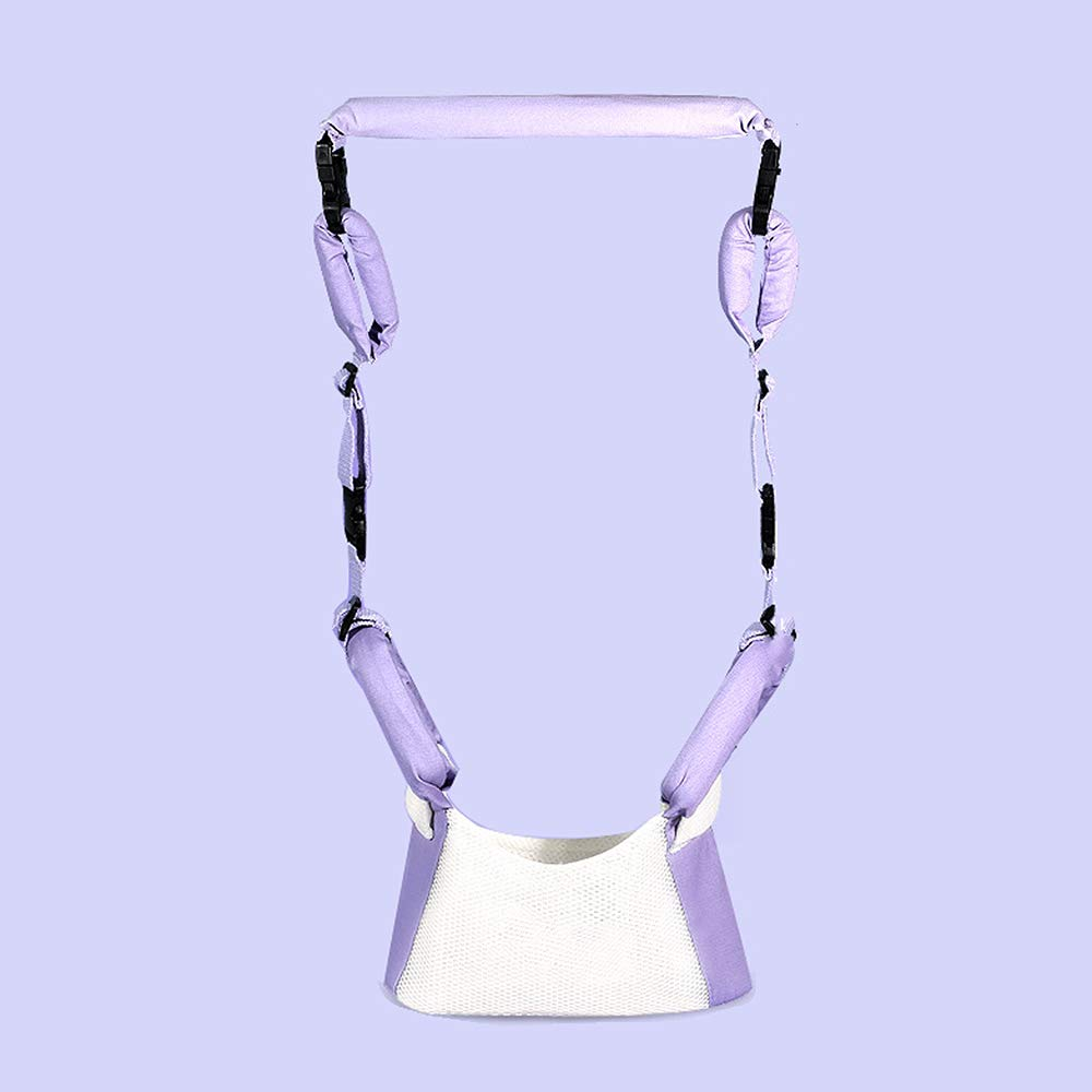 Relubby Children Activity Safety Harness,Safe Traction Walking Baby Walkers,Purple