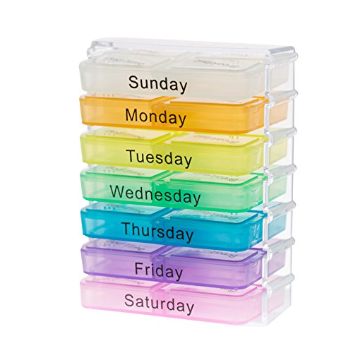 Pill box organizer - Medicine Boxes weekly Medicine Organizer By - In Stores Water Tower Place