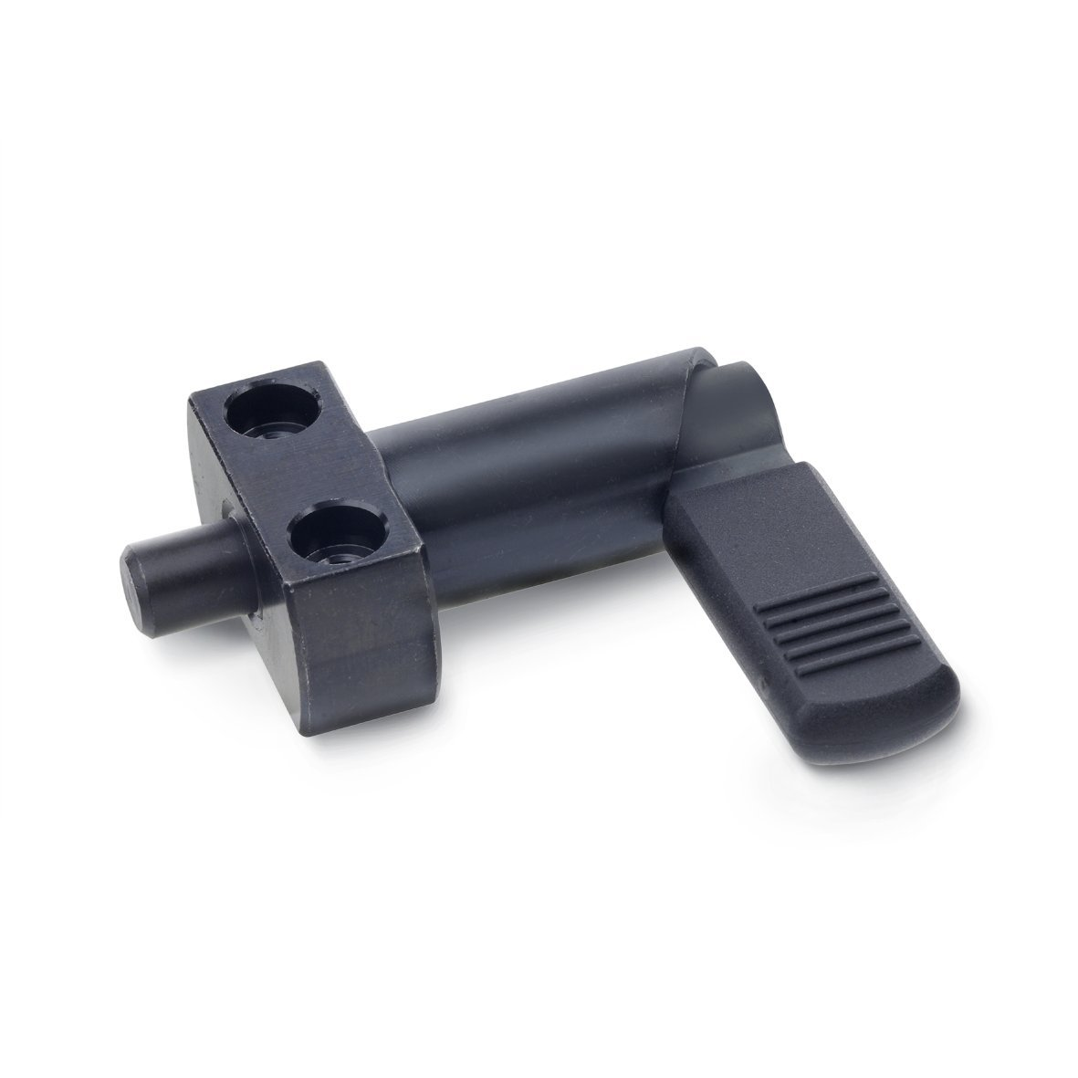 GN 612.2 Series Steel Cam Action Indexing Plunger with Mounting Flange, with Plastic Sleeve, 69mm Item Length, 8mm Item Diameter