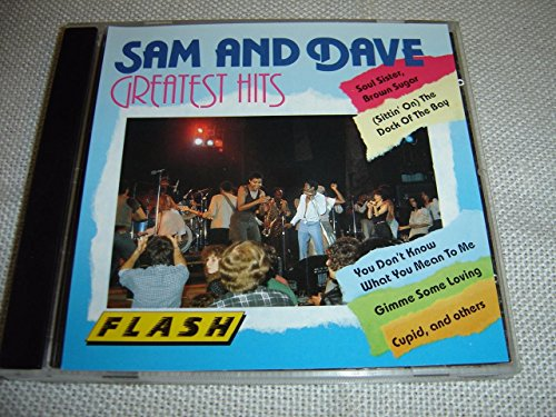 Price comparison product image Sam and Dave Greatest Hits / Soul Sister,  Brown Sugar - (Sittin' On) The Dock of the Bay - You Don't Know What You Mean To Me - Gimme Some Loving - Cupid [Audio CD]