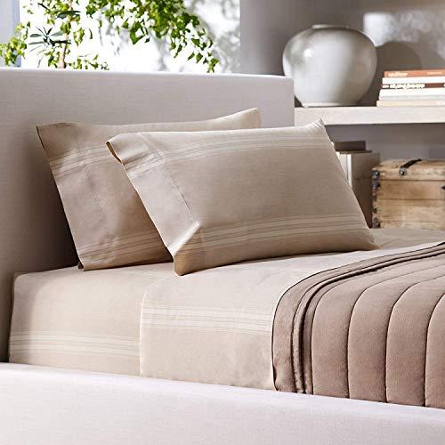- Ralph Lauren Corso Campania Stripe King Flat sheet