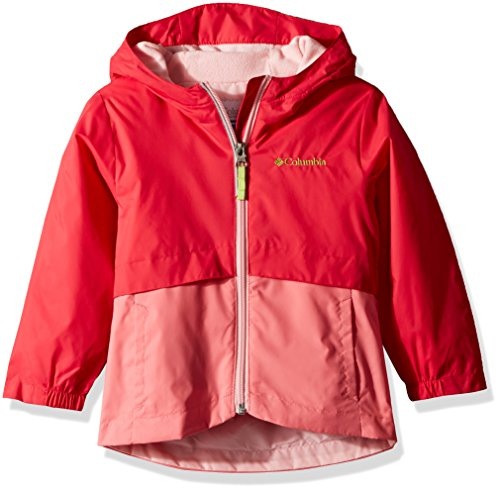 Columbia Toddler Girls' Rain-Zilla Jacket, Punch Pink, Lollipop, 3T