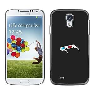 All Phone Most Case / Oferta Especial Duro Teléfono Inteligente PC Cáscara Funda Cubierta de proteccion Caso / Hard Case Samsung Galaxy S4 // 3D Glasses