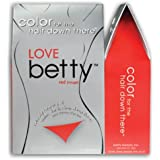 Betty Beauty Love (Red) Betty - Color For The Hair Down There Hair Coloring Kit