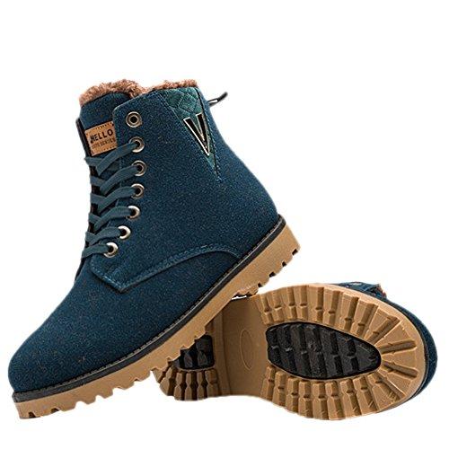 Homme desert boots hiver impermeable en PU chaussure chaud Vert 44   Amazon.fr  Chaussures et Sacs 5f1b3e518e59