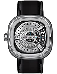 SEVENFRIDAY Mens M1-1 M Series Analog Display Japanese Automatic Black Watch