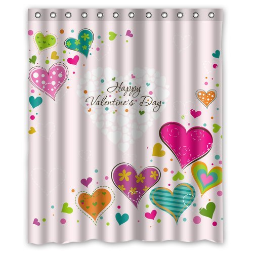 High Quality And New Fashion Happy ValentineS Day Shower Curtain 60quot