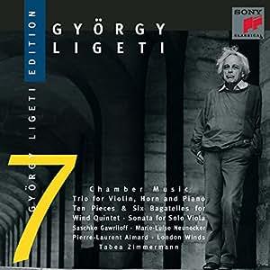 Gyorgy Ligeti Edition 7:: Chamber Music