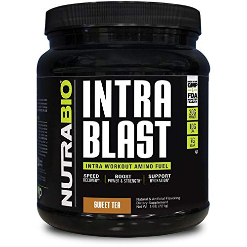 Intra Blast - 30 Servings (Sweet Tea) by NutraBio