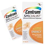 (2 Pack) Centrum Specialist Energy, Multivitamin Tablets, 60-Ct ea.