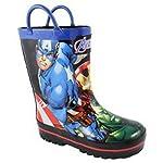 Marvel Boys Avengers Rain Boots Toddler/Little Kid Blue