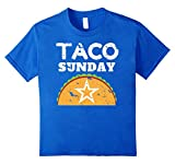 Taco Sunday Shirt Vintage Distressed
