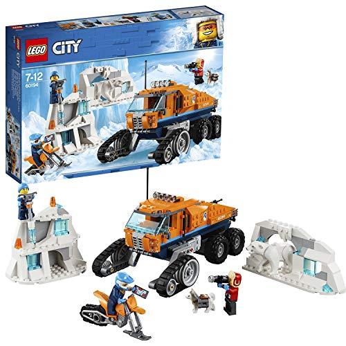 LEGO City Arctic Expedition Scout Truck Toy, Explorer Vehicle Building Sets